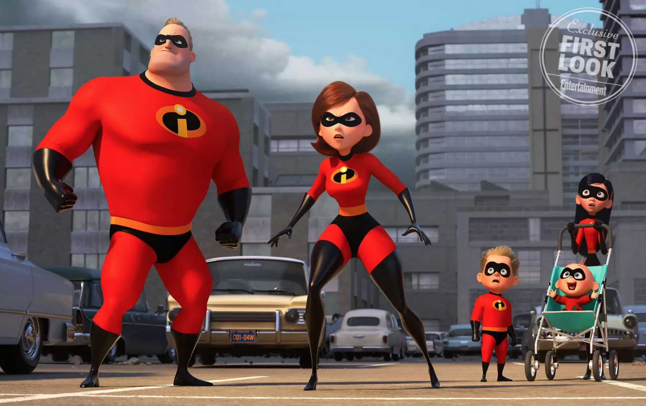 The Incredibles Wish You A Happy New Year With Cheeky Motion Poster