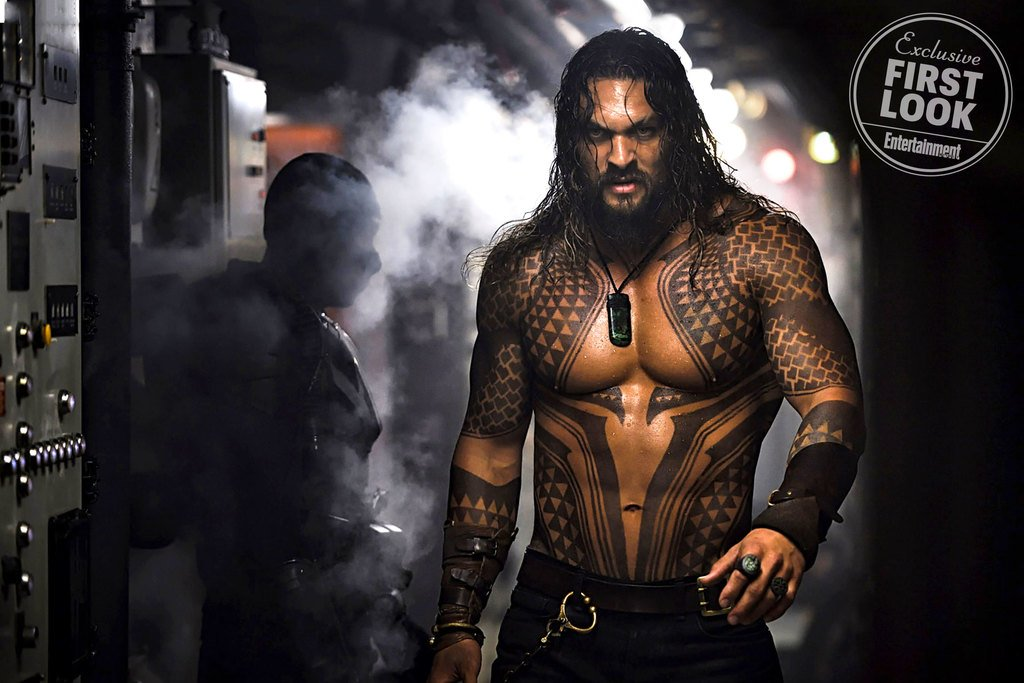 "Epic First Image For Aquaman Surfaces As Jason Momoa Promises ""Totally Different Beast"""