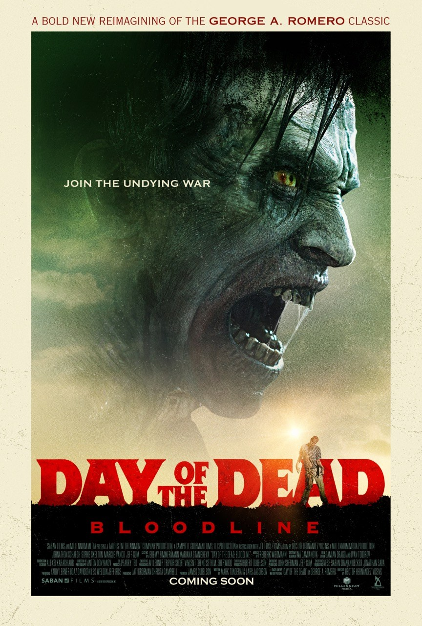 New Day Of The Dead: Bloodline Poster References Romero's 1985 Original