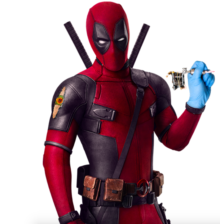 DEADPOOL Giving Away Free Tattoos To Fans In BRAZIL