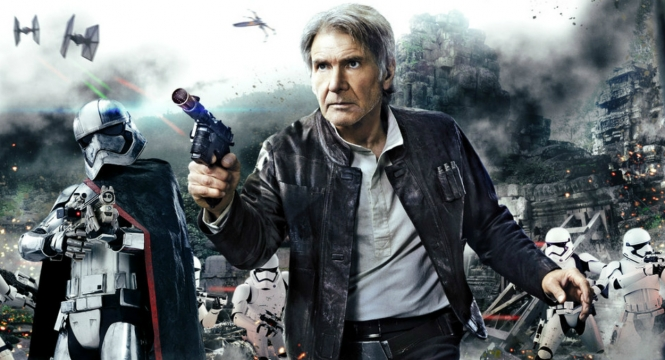 Han Solo in Star Wars: The Force Awakens