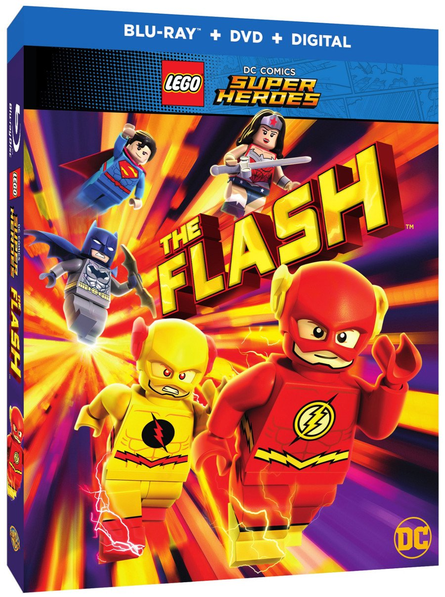 LEGO DC Super Heroes: The Flash Gets Trailer And Release Date