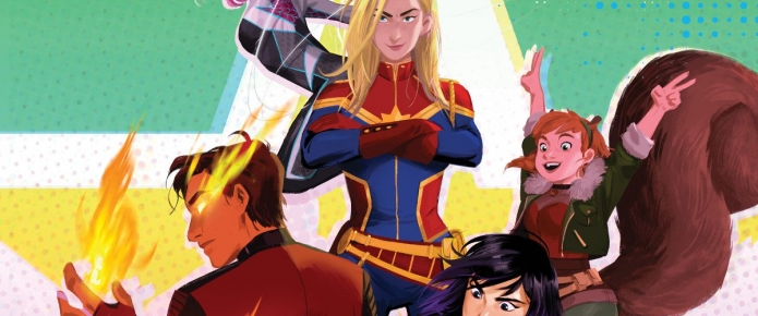 Spider-Gwen And Captain Marvel Lead The Way In New Marvel Rising Animated Franchise
