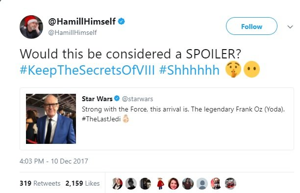 Mark Hamill's Last Jedi Performance Gets Oscar Campaign