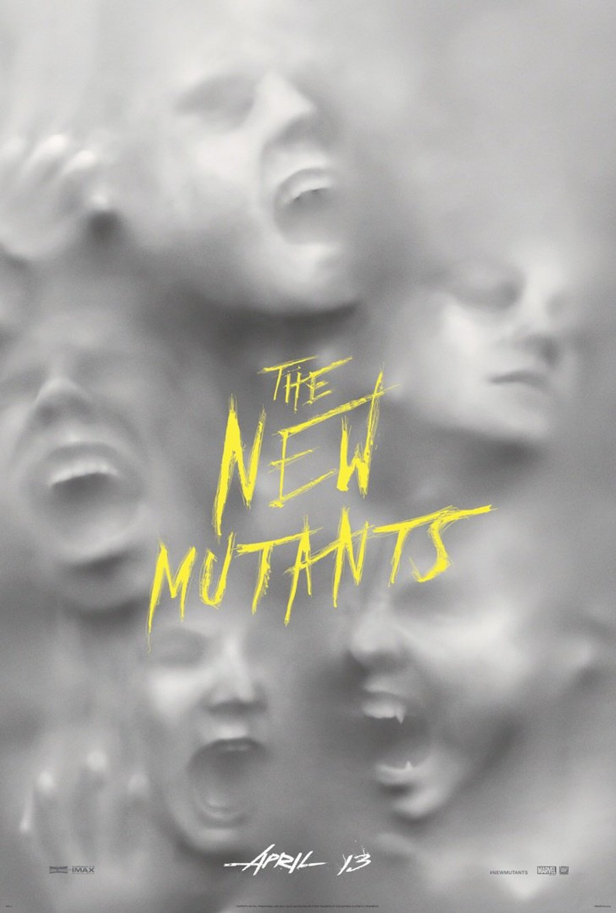 The New Mutants Channel The Frighteners On First Theatrical Poster