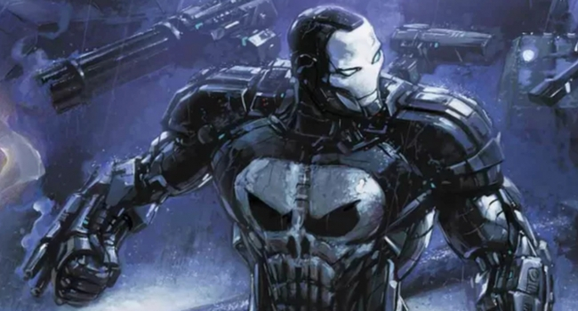 The Punisher Is Dressed To Kill In Upgraded War Machine Armor