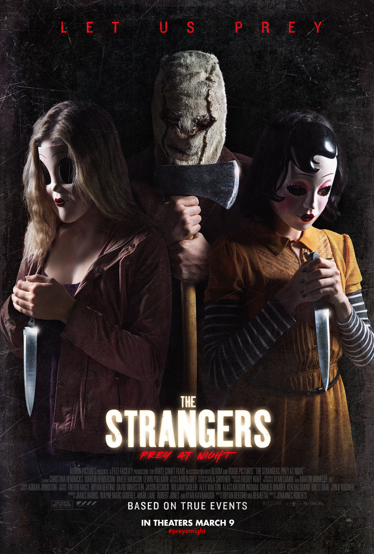 Someone's At The Door In New Strangers: Prey At Night Photo