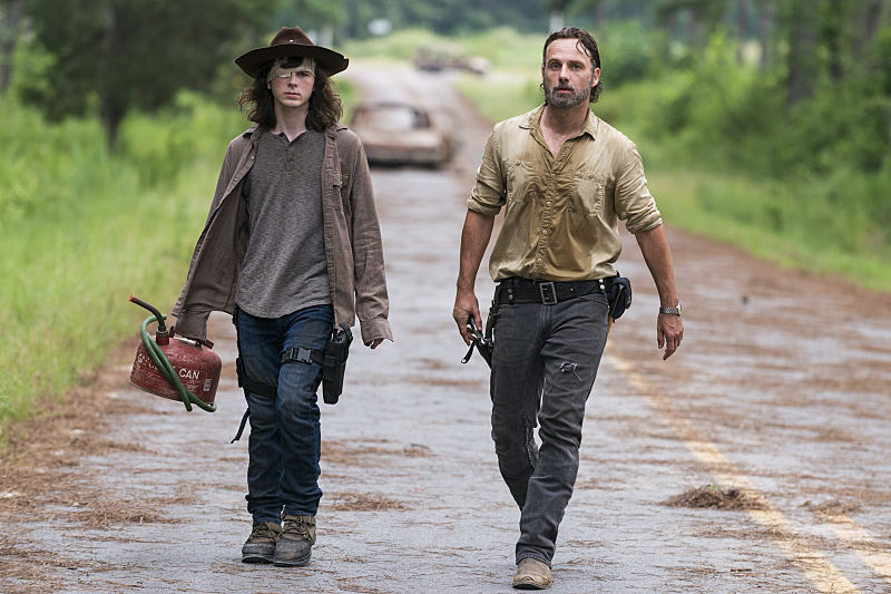 The Walking Dead's Andrew Lincoln Not Ruling Out A Rick/Morgan Reunion