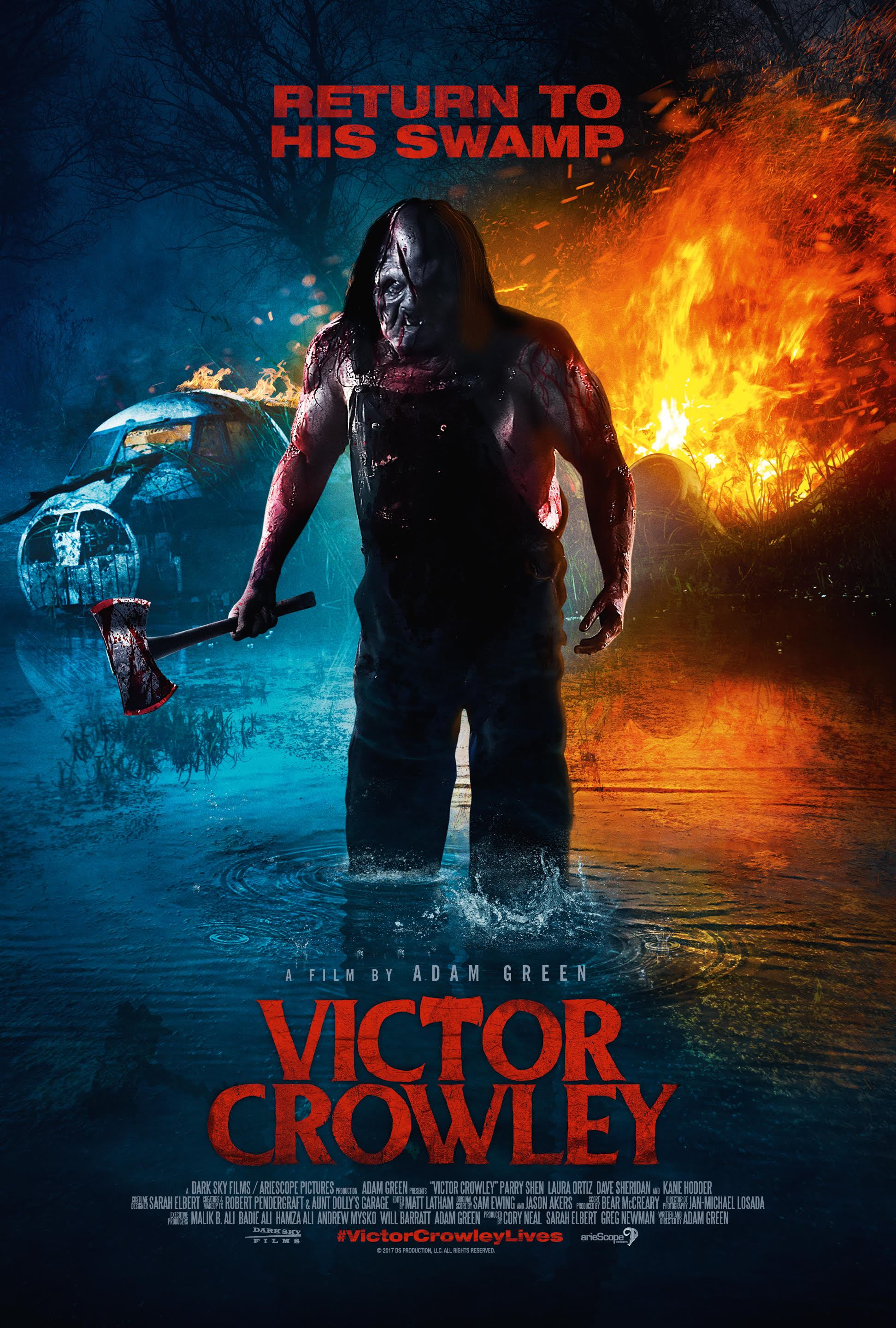 The Swamp Monster Looms Large As Victor Crowley Scores Blu-Ray Release