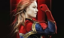 Brie Larson Prepares To Take Flight In Latest Captain Marvel Pic