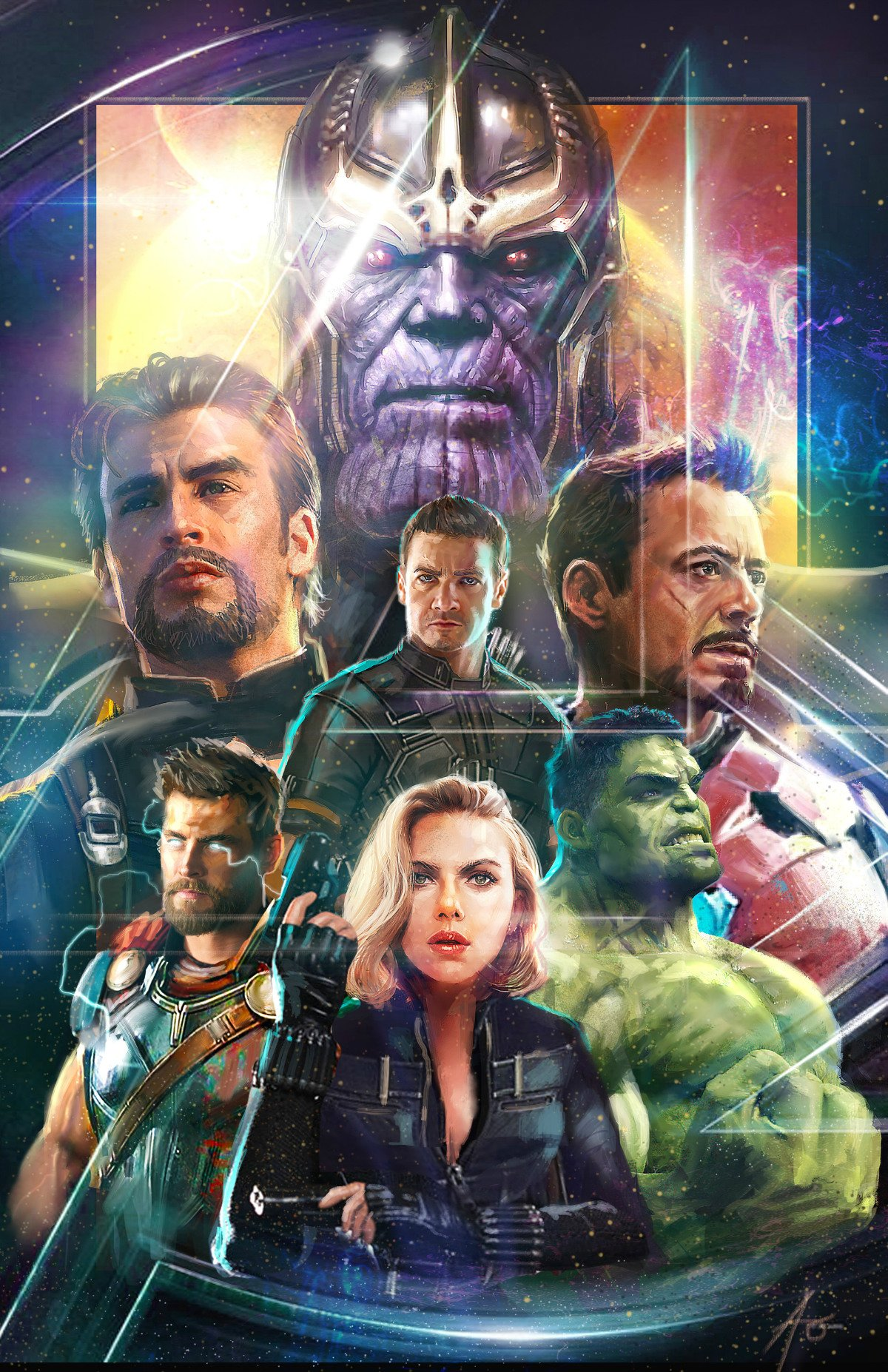 Another Fan-Made Poster For Avengers: Infinity War Brings Together Marvel's Finest