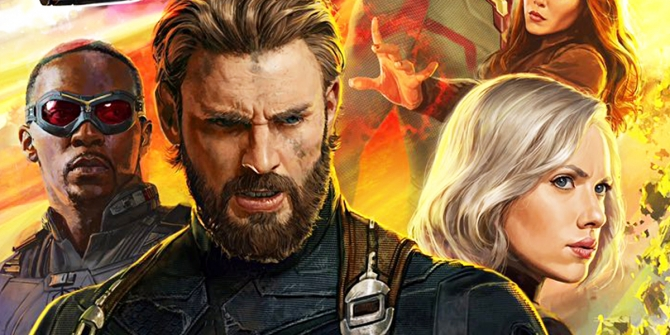 Avengers Infinity War Captain America Falcon and Black Widow