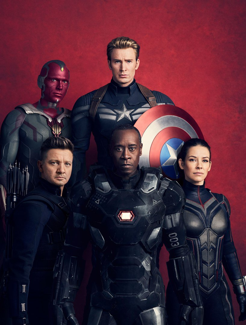Vanity Fair Unveils Textless Versions Of Its Avengers