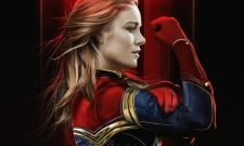 Brie Larson's On The Run In New Captain Marvel Set Video