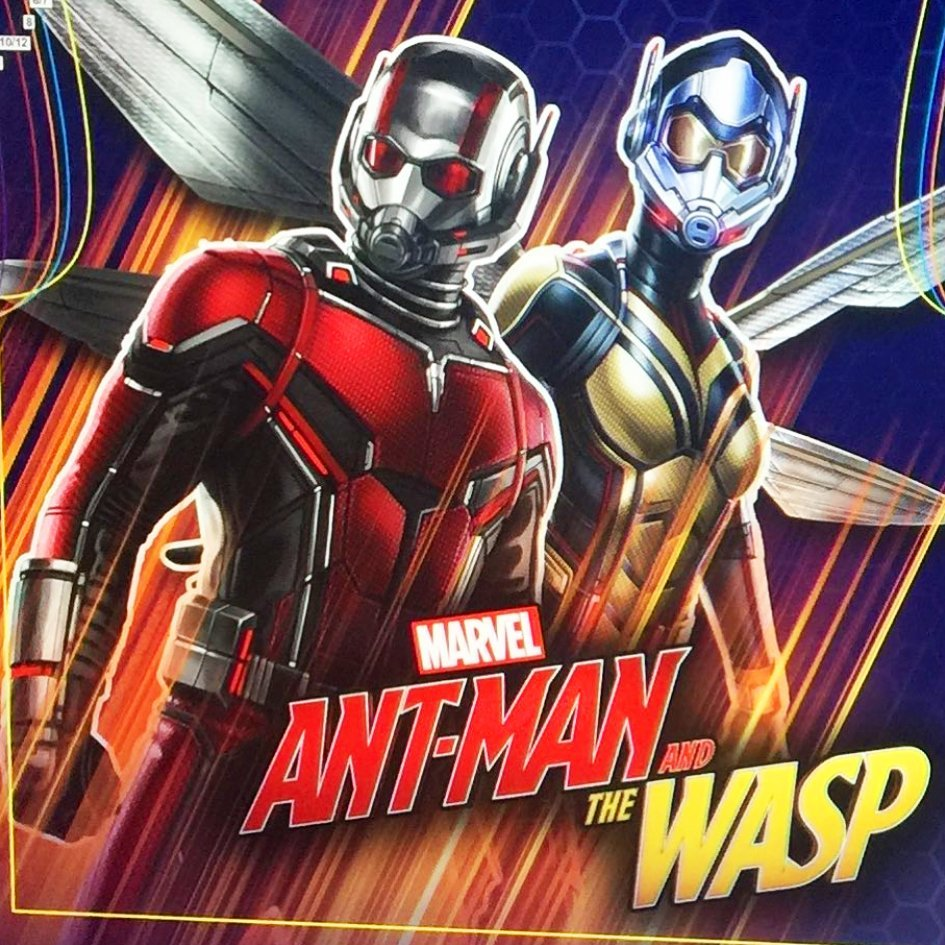 Gorgeous New Ant Man And The Wasp Posters Fly Online