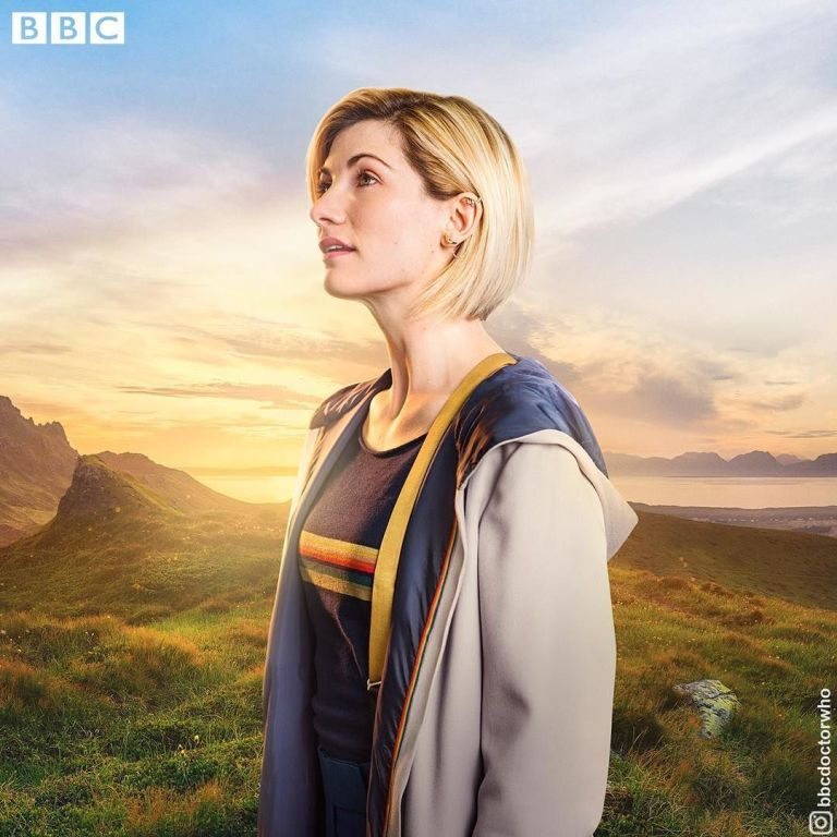 Jodie Whittaker's Time Lord Looks To The Future In New Doctor Who Image