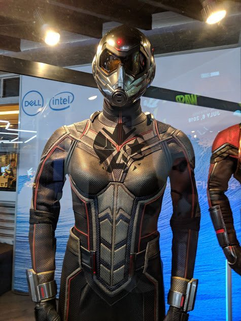 Close-Up Photos Show Off Ant-Man And The Wasp's New Costumes