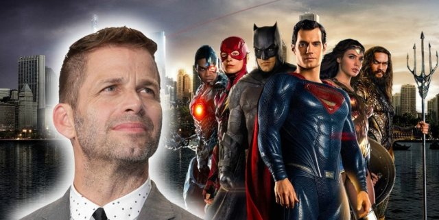 Zack Snyder and the Justice League