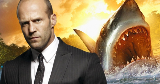 The Meg trailer: Jason Statham fights a monster shark. Enough said