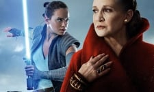 New Star Wars: The Rise Of Skywalker Photos See Leia Giving Rey Luke's Lightsaber