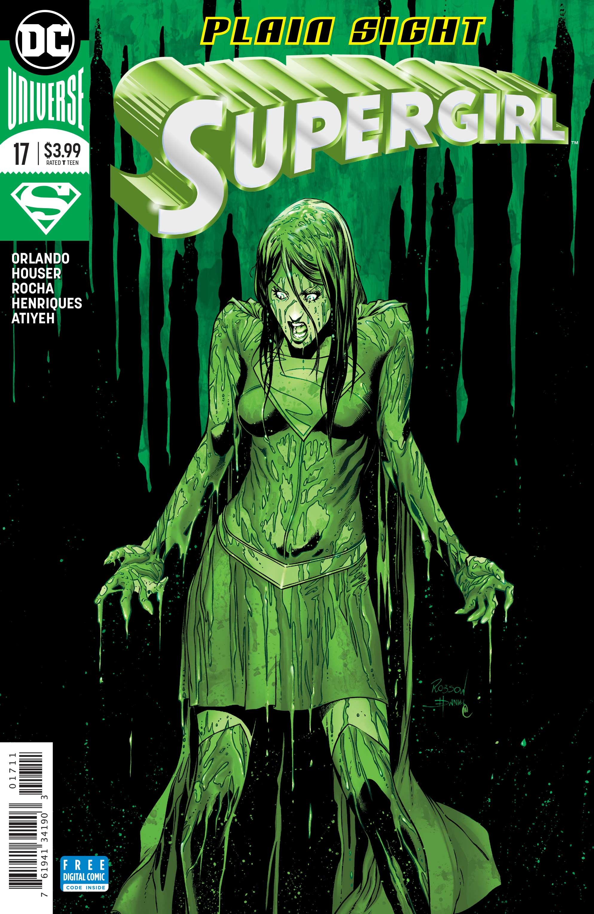 Exclusive Preview: Plain Sight Continues In Supergirl #17