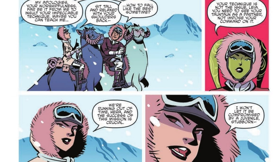 Forces Of Destiny Comic Links Star Wars Rebels To The Battle Of Hoth
