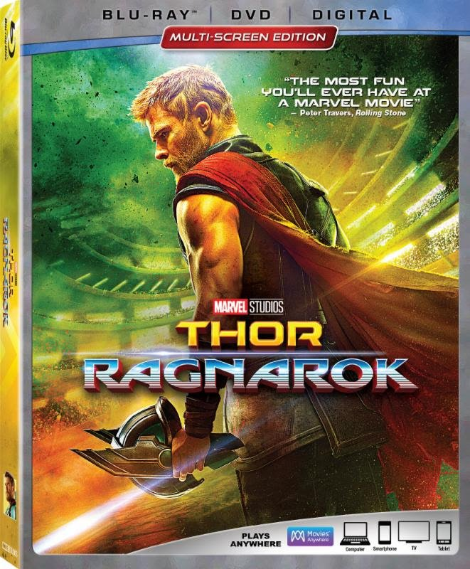 Marvel Dates Thor: Ragnarok Blu-Ray For March; Feast Your Eyes On A New Trailer