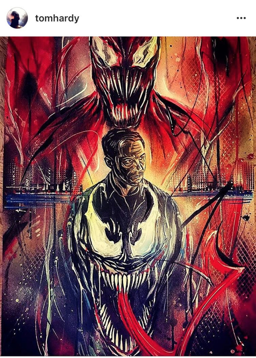 Tom Hardy All But Confirms Carnage's Role In Venom
