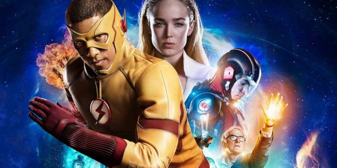 Wally West on Legends of Tomorrow