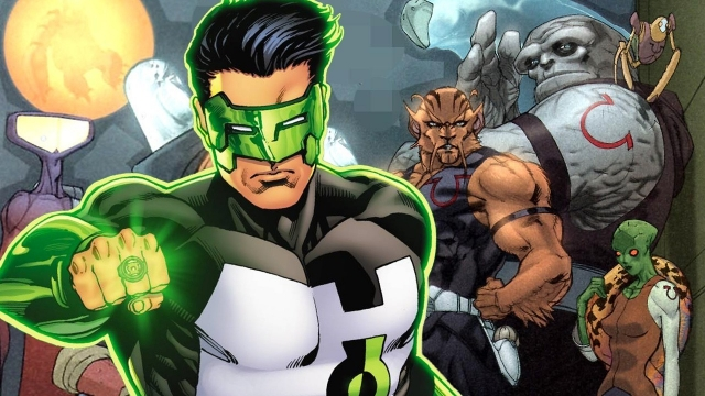 Krypton May Include The Green Lantern Corps And Omega Men