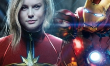 Captain Marvel And Iron Man Team Up On Gorgeous Avengers 4 Fan Poster