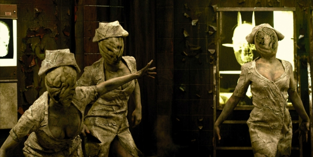 Creepy photo from Silent Hill Revelation
