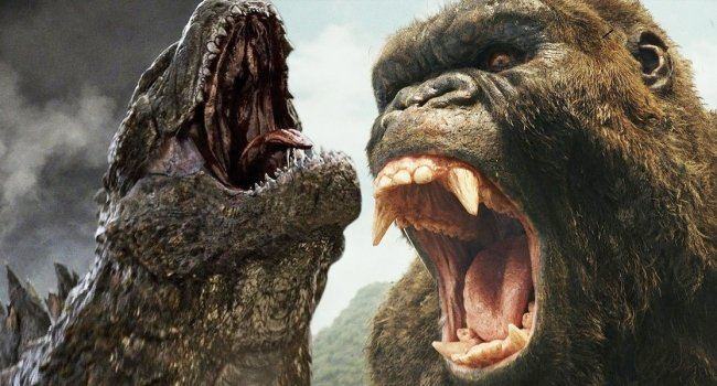 Leaked Godzilla Vs. Kong Footage Sees King Kong Throwing A Punch