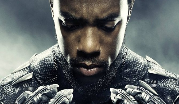 Chadwick Boseman Black Panther Character Poster
