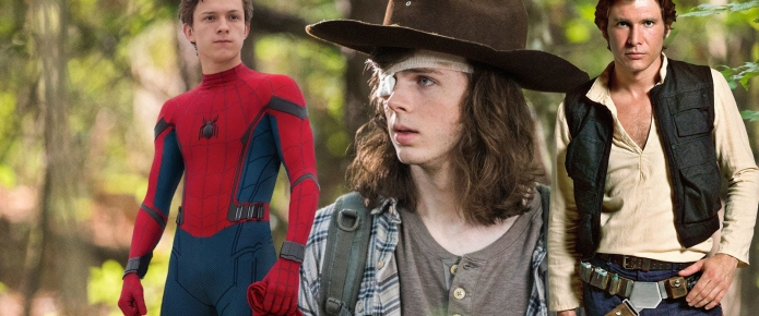 The Walking Dead's Chandler Riggs Once Auditioned For Spider-Man And Young Han Solo