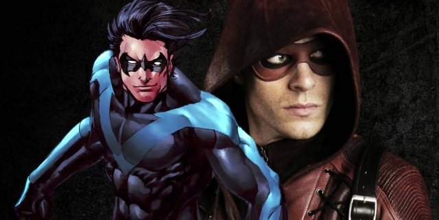 Colton Haynes is teasing a role in Nightwing