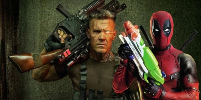 Deadpool and Cable in the sequel