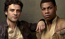 "John Boyega ""Confirms"" Finn And Poe Are Holding Hands In New Star Wars: The Rise Of Skywalker Photo"