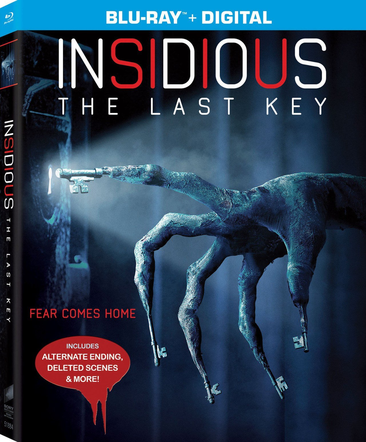 Blu-ray of Insidious: The Last Key