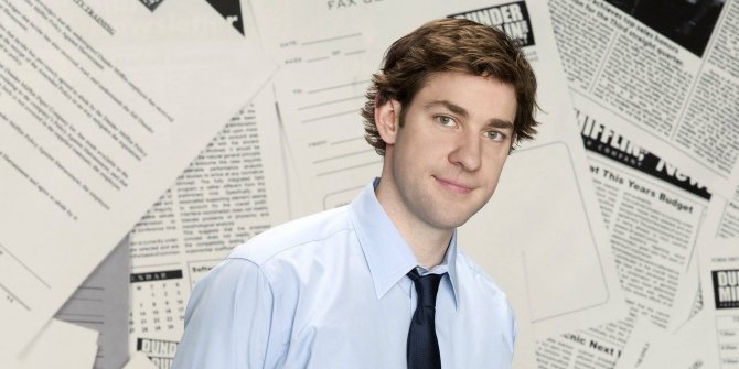 Jim Halpert on The Office