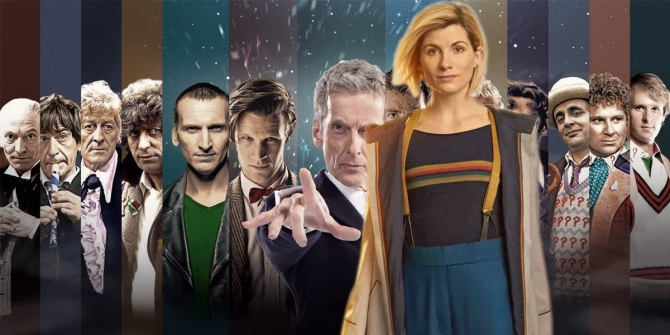 Jodie Whittaker as Doctor Who and the previous Doctors