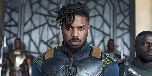 Killmonger in Black Panther