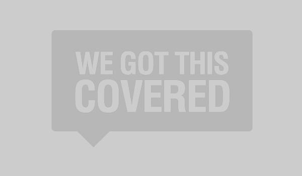 Kylo Ren and Snoke in The Last Jedi