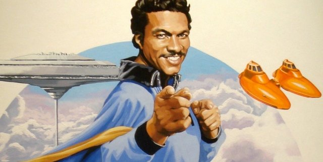 Lando Calrissian Cloud City Star Wars