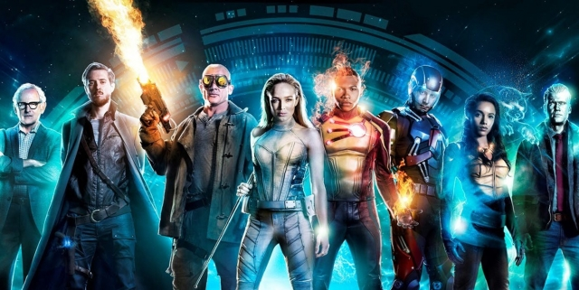 Legends of Tomorrow Season 3 Promo Art