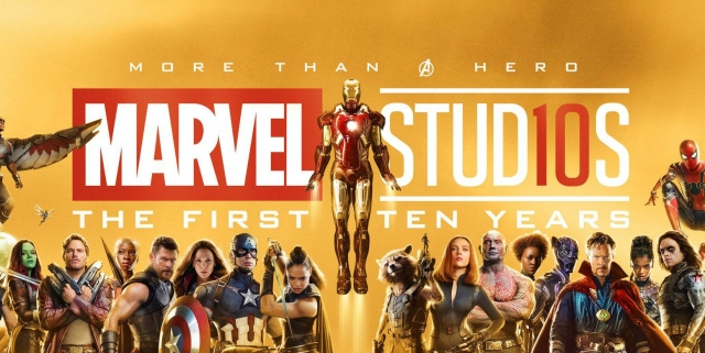 Marvel Studios 10 year banner