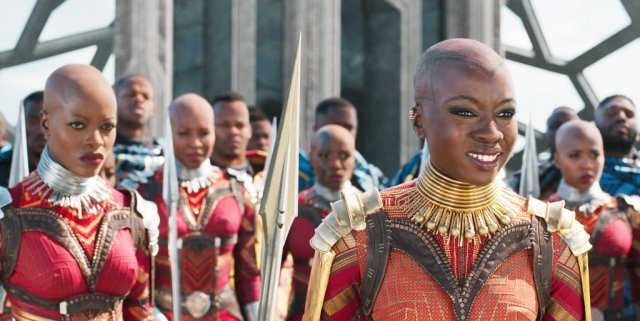 Okoye in Black Panther