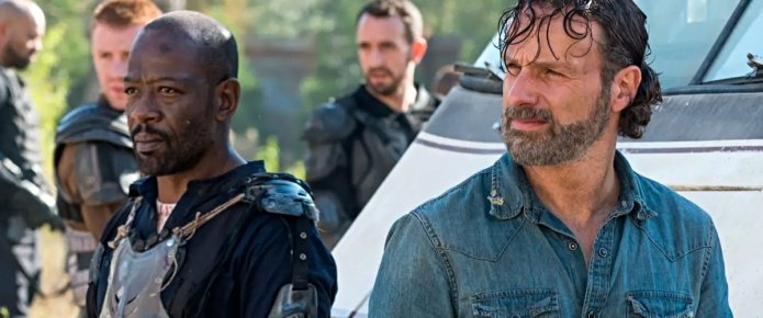 We Haven't Seen The Last Of Rick And Morgan On The Walking Dead