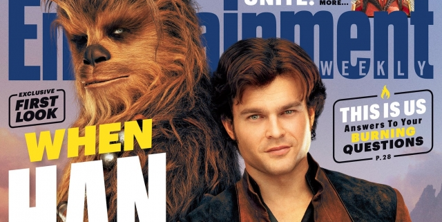 Solo A Star Wars Story EW Cover