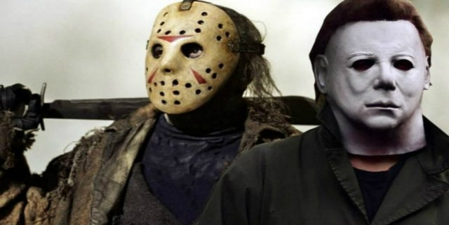 Jason Voorhees and Michael Myers
